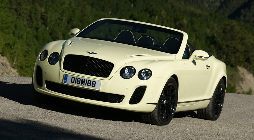 Bentley Continental Supersports Convertible #20