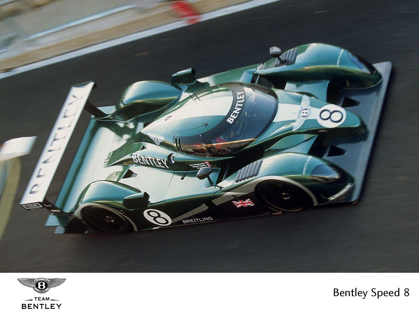 Bentley Exp Speed 8 #22