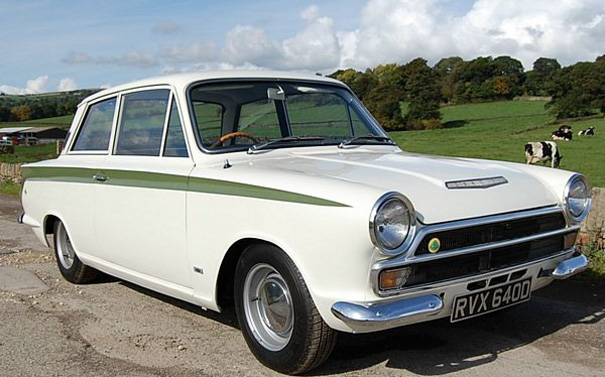 Ford Lotus Cortina #23