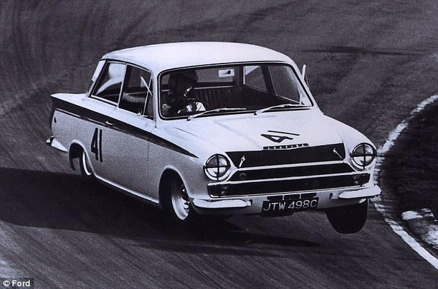 Ford Lotus Cortina #21