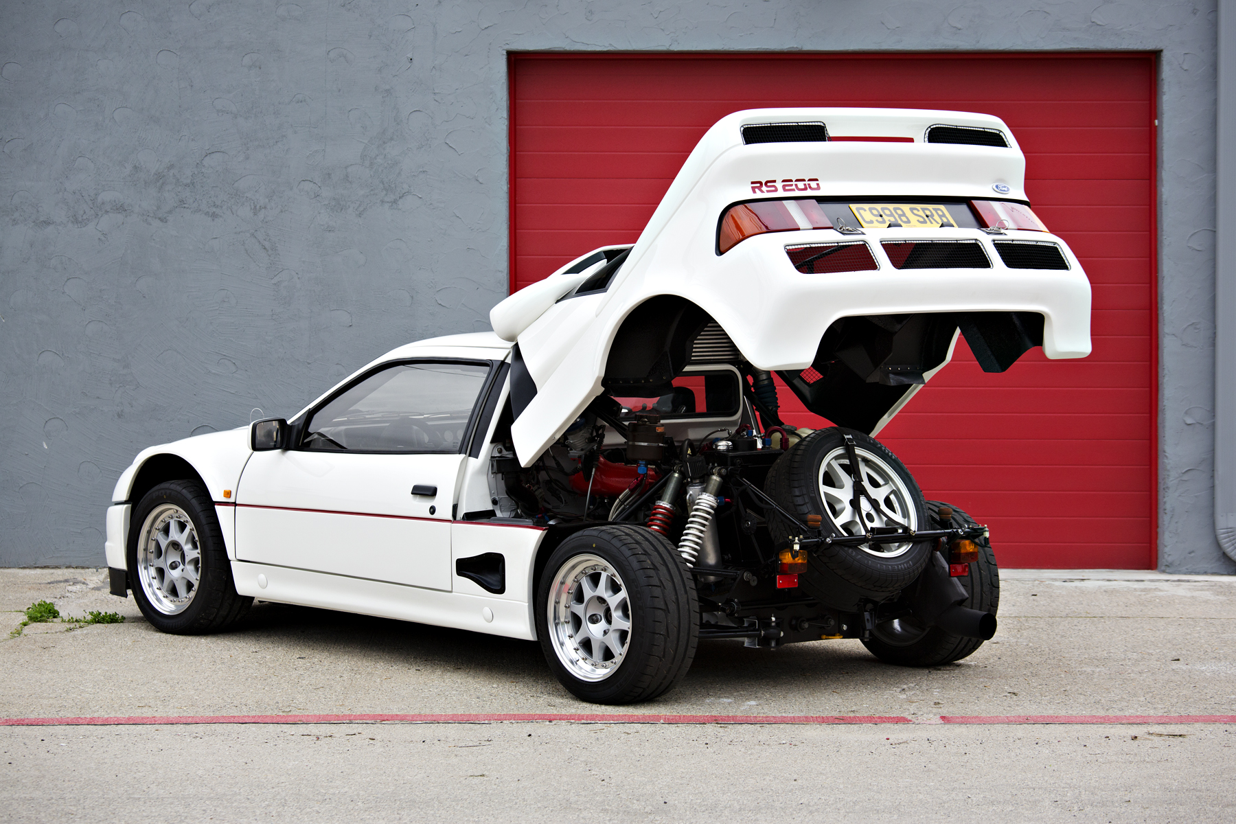 Ford RS 200 #17