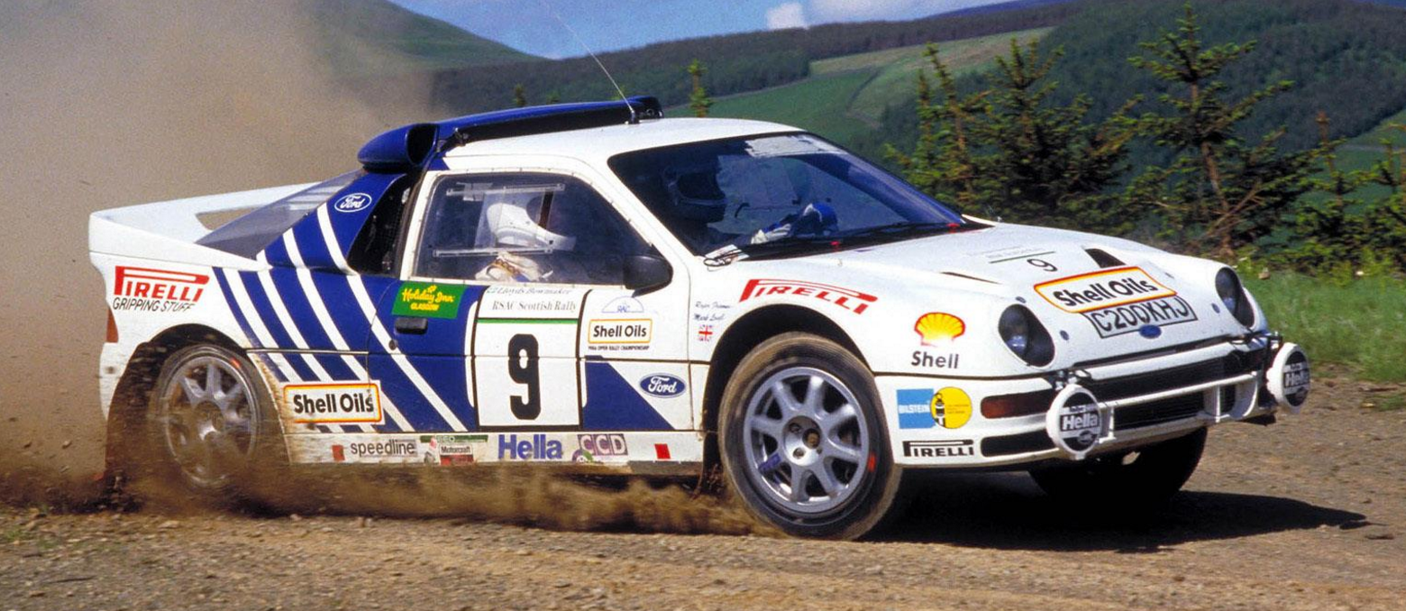 Ford RS 200 #18