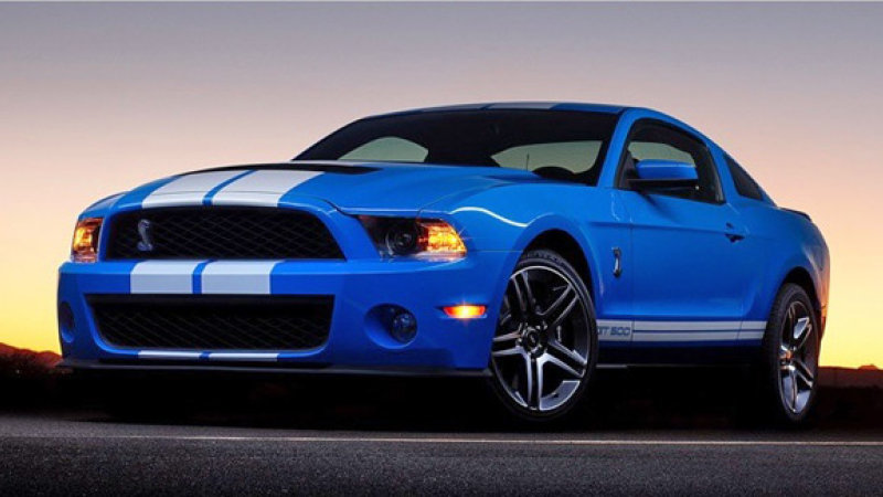 Ford Shelby Gt500 #21