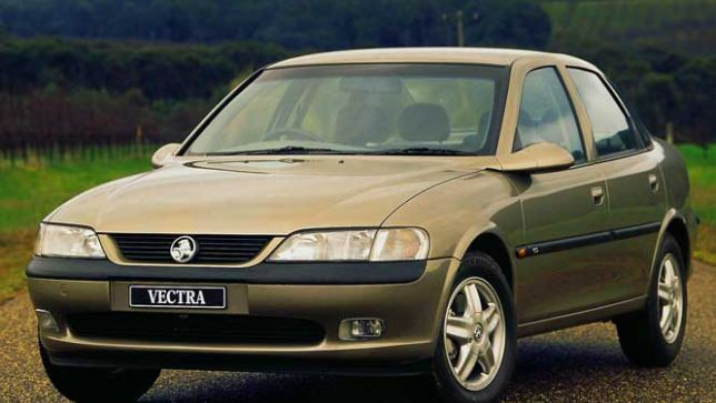Holden Vectra #14