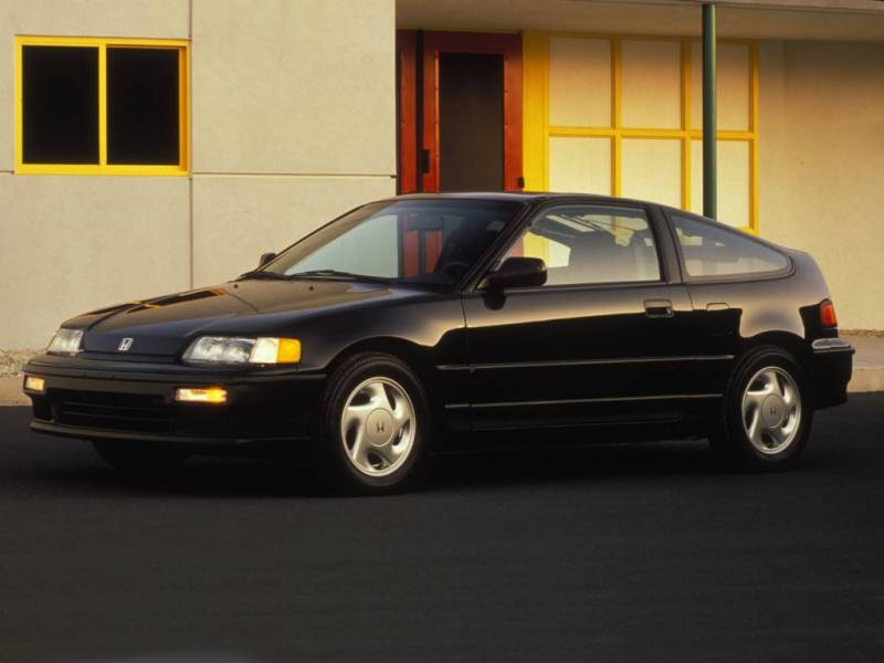 Honda Civic Crx #16