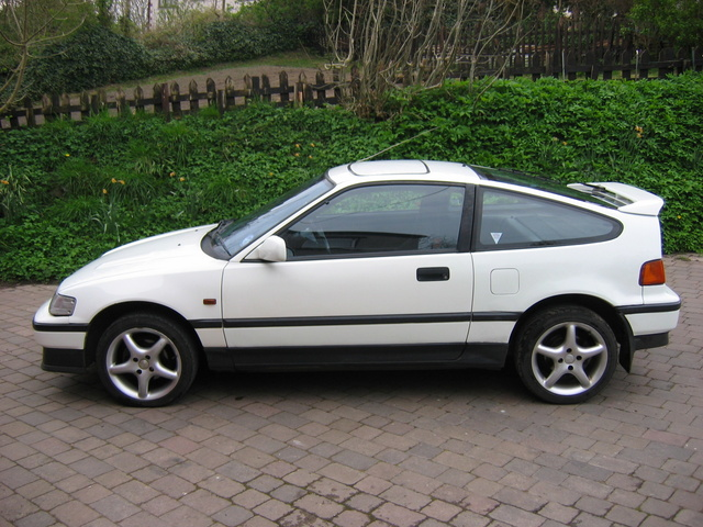 Honda Civic Crx #14