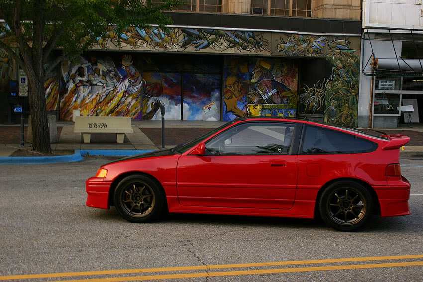 Honda Civic Crx #18