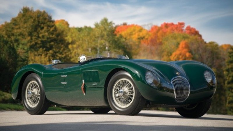 Jaguar C-Type #18
