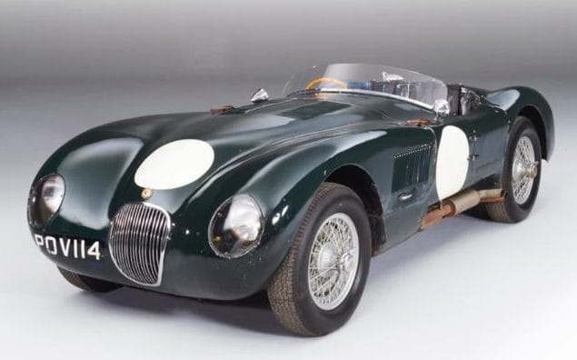Jaguar C-Type #21