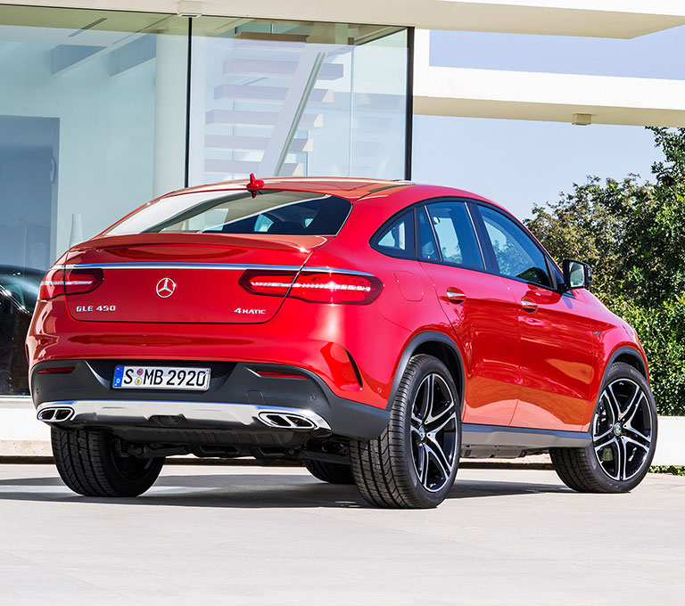 Mercedes-Benz Gle-class Coupe #2