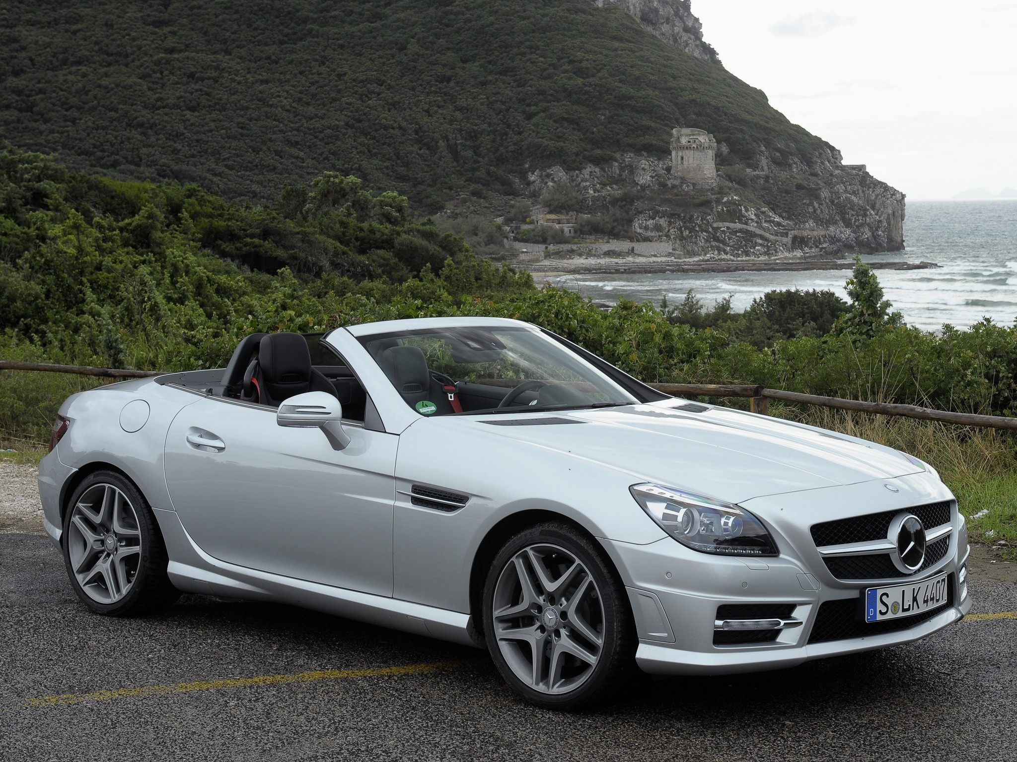 mercedes benz slk photos informations articles. Black Bedroom Furniture Sets. Home Design Ideas