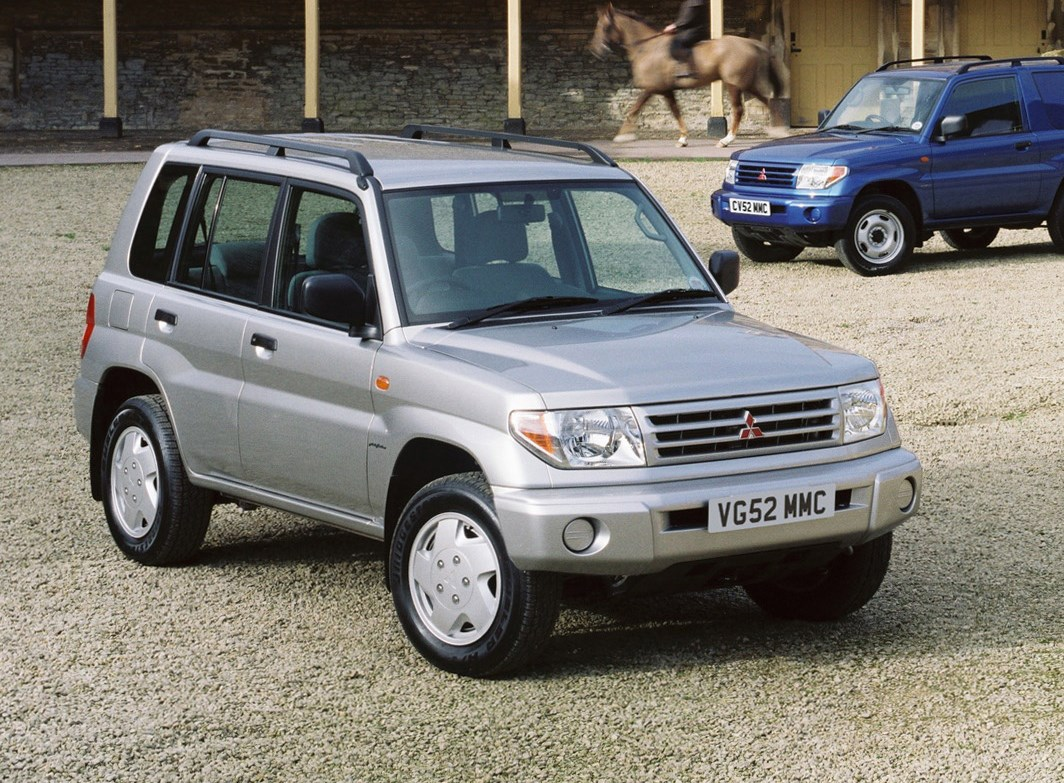 Mitsubishi Shogun Pinin Photos Informations Articles