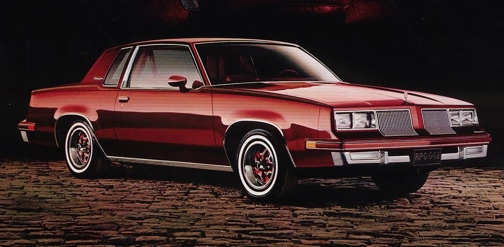 Oldsmobile Cutlass Supreme #28