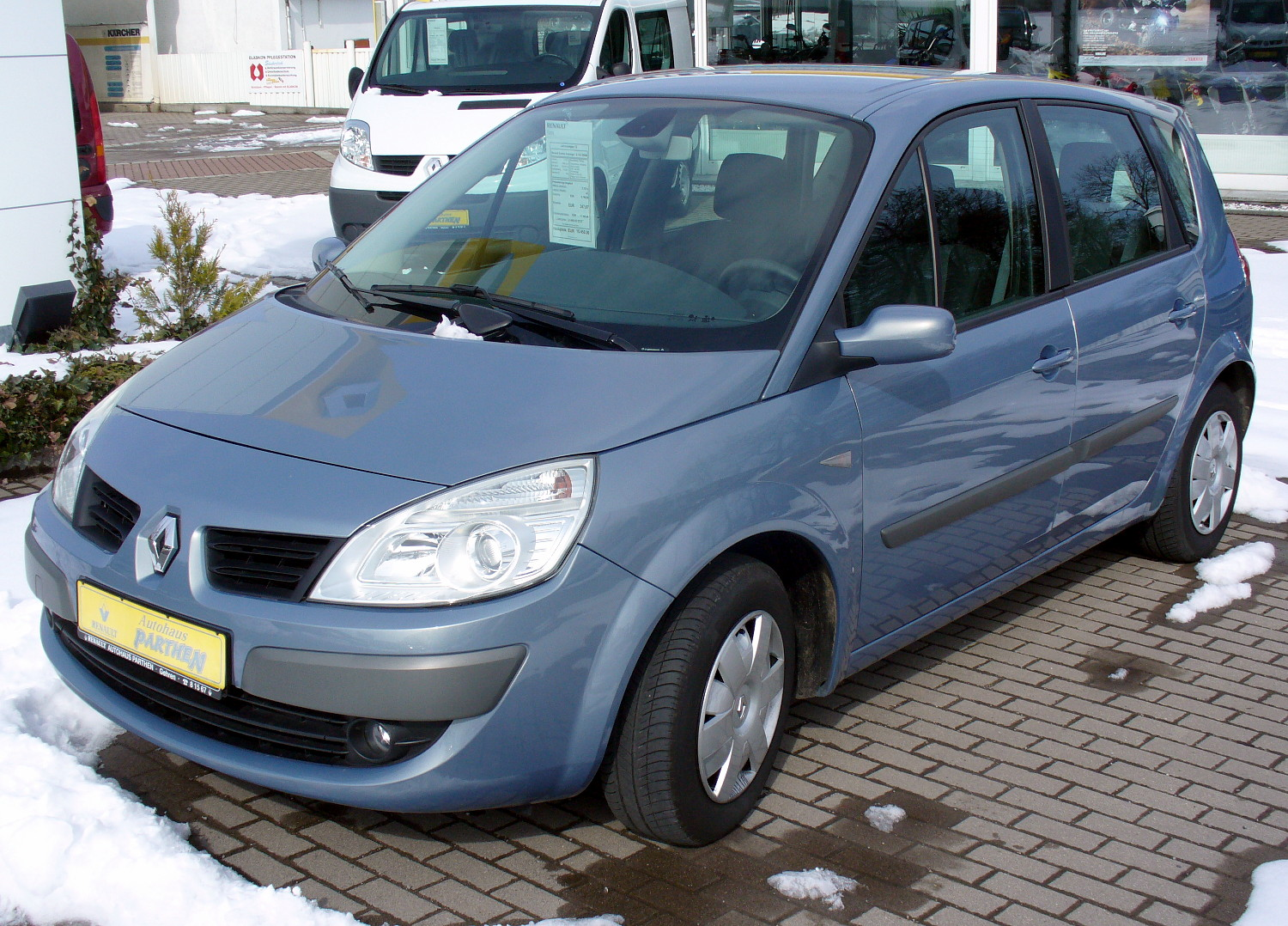 renault scenic ii photos informations articles. Black Bedroom Furniture Sets. Home Design Ideas