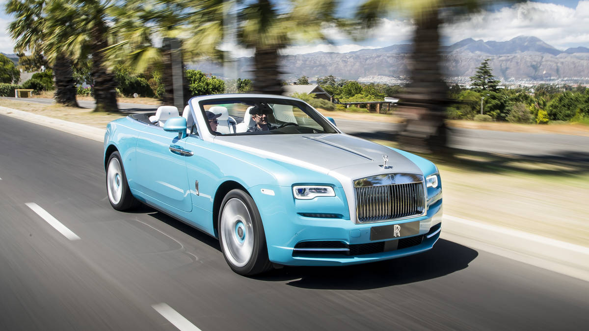 Rolls Royce Dawn #5