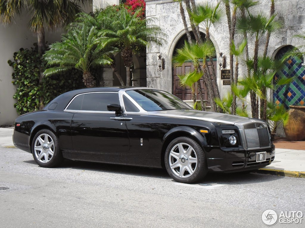 rolls royce phantom coupe photos, informations, articles