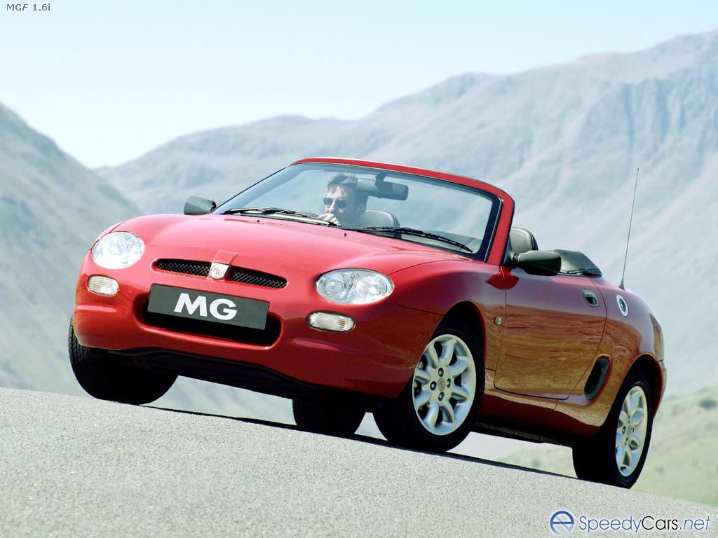 Rover MGF #17