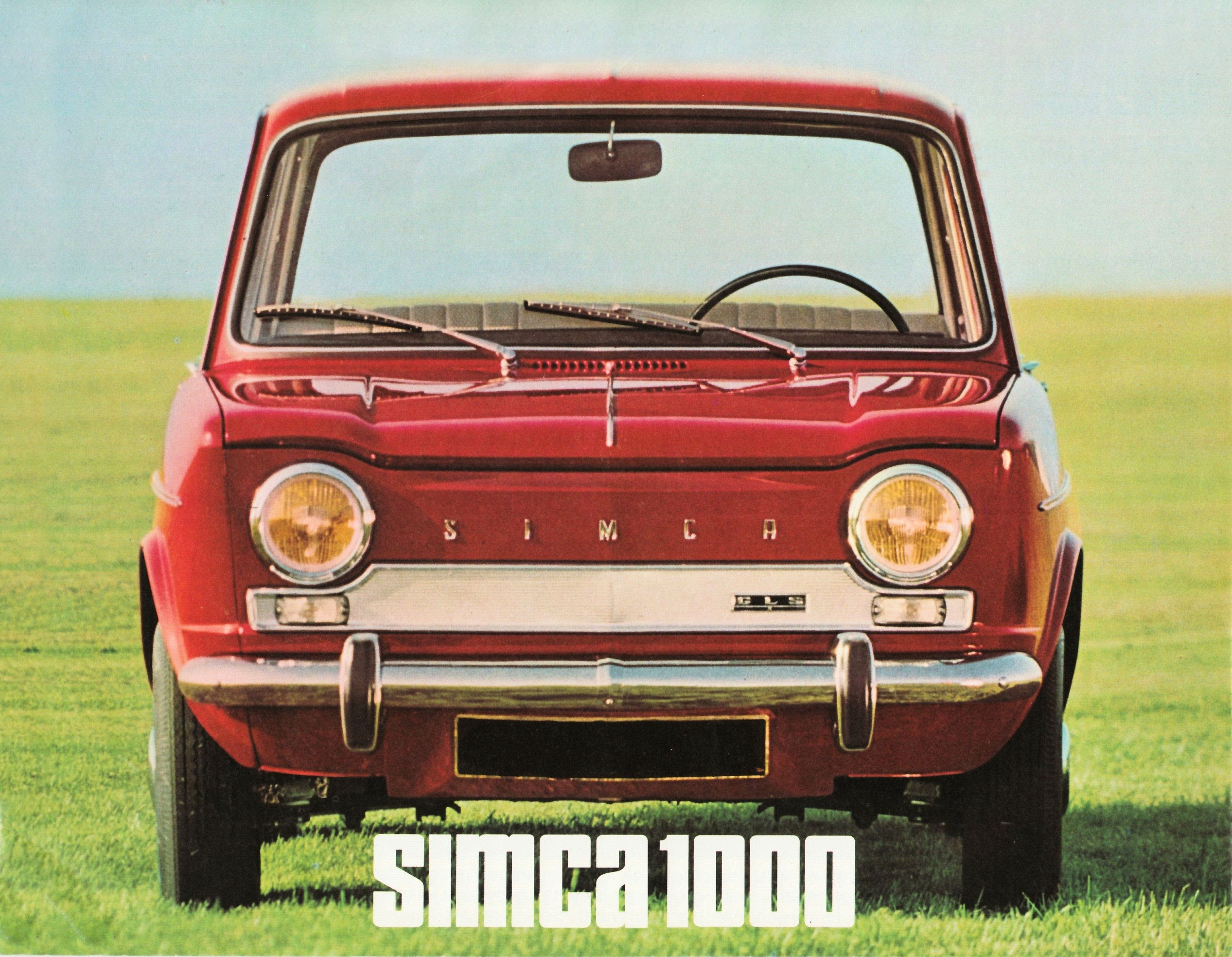 photos simca 1000