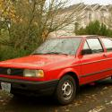 1990 Volkswagen Fox #1