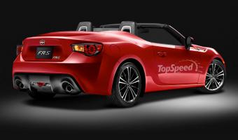 2014 Scion Fr-s Convertible #1
