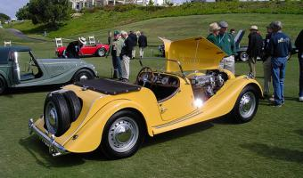 1955 Morgan Plus 4 #1