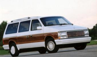 1990 Chrysler Town And Country #1