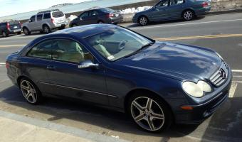 2005 Mercedes-Benz CLK #1