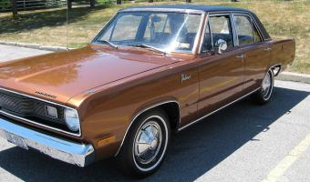 1972 Plymouth Valiant #1