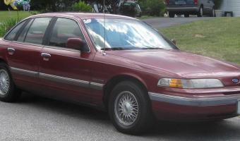 1992 Ford Crown Victoria #1