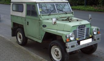 1972 Land Rover Serie III #1