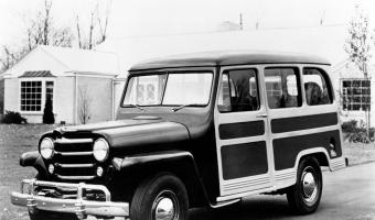1950 Jeep Station Wagon #1
