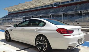 2014 Bmw M6 Gran Coupe #1