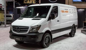 2016 Mercedes-benz Sprinter Worker #1