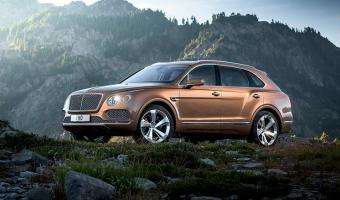 2017 Bentley Bentayga #1