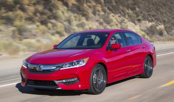 2017 Honda Accord #1