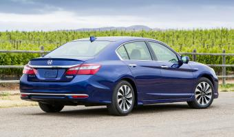 2017 Honda Accord Hybrid #1