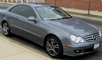 2009 Mercedes-Benz CLK #1