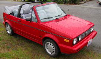 1990 Volkswagen Cabriolet #1