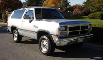 1992 Dodge Ramcharger #1