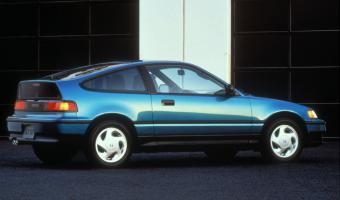 1990 Honda Civic Crx #1