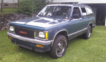 1992 GMC Jimmy #1