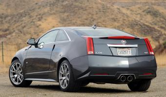 2012 Cadillac Cts-v Coupe #1