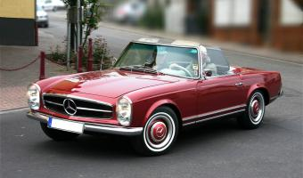 1966 Mercedes-Benz SL #1