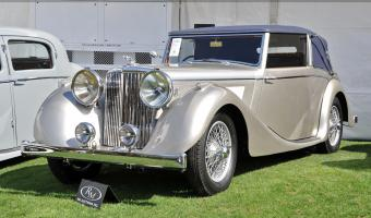 1948 Jaguar Mark IV #1