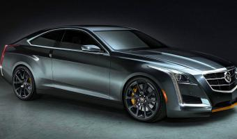 2014 Cadillac Cts Coupe #1