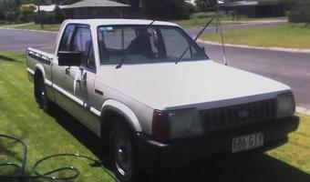 1986 Ford Courier #1