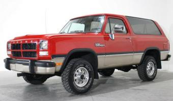 1993 Dodge Ramcharger #1