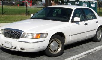 2002 Mercury Grand Marquis #1