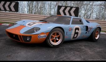 1969 Ford GT 40 #1