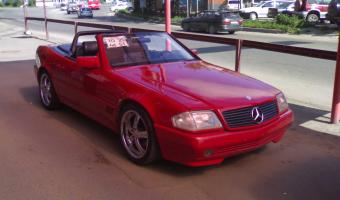 1992 Mercedes-Benz SL #1